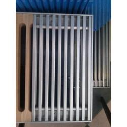 Podest aluminiowy rolowany SOLO 250/ 7mm do grzejnika kanałowego REGULUS SOLO