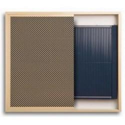 REGULUS INSIDE pionowy  440 x 480 z went. grzejnik wnękowy