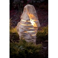 DESI Lampa ogrodowa wykonana z kamienia