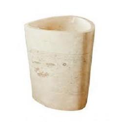 BALI WHITE Umywalka stojąca 55x55x90 HANSA STONE