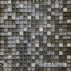 Mozaika szklano-kamienna A-MMX08-XX-006 30x30 cm