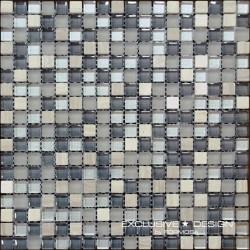 Mozaika szklano-kamienna A-MMX08-XX-009 30x30 cm