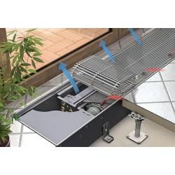 Katherm HK 132/340/2000 2574W/694W Klimakonwektor podłogowy CZTERORUROWY KaControl KAMPMANN