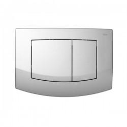 TECEambia - przyciski spłukujące do WC, podwójne, chrom matowy TECE