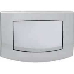 TECEambia - przyciski spłukujące do WC, pojedyncze, chrom matowy TECE