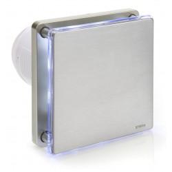 Wentylator łazienkowy srebrny BFS100L-S (LED)