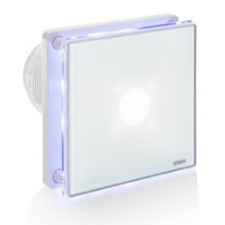 Wentylator łazienkowy biały BFS100LT (LED + timer)