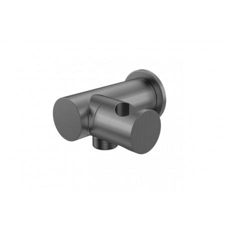 KOHLMAN uchwyt słuchawkowy z przyłączem wody QW004AEG grafit