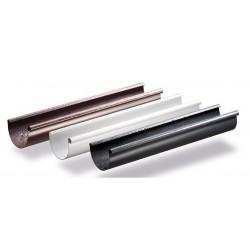 Rynna dachowa PVC 100mm - 3mb GAMRAT
