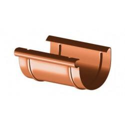 Złączka rynnowa PVC 125mm  GAMRAT