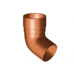 Kolano PVC 90mm 67.5 GAMRAT