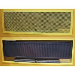 REGULUS INSIDE poziomy  480 x 1940 z went. grzejnik wnękowy
