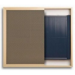 REGULUS INSIDE pionowy  840 x 1020 z went. grzejnik wnękowy