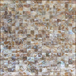 Mozaika z muszli A-MSH08-ZZ-009  30x30 cm
