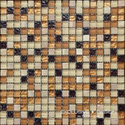 Mozaika szklano-kamienna A-MMX08-XX-007 30x30 cm