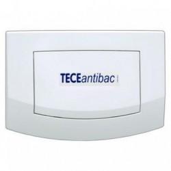 TECEambia - przyciski spłukujące do WC, pojedyncze, biały antybakteryjny TECE