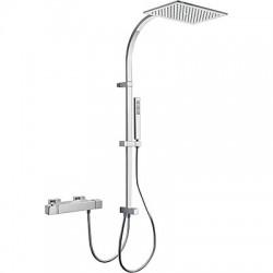 TRES Slim exclusive Zestaw termostatyczny natryskowy, kolor chrom 20238501