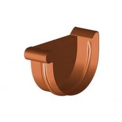 Denko rynnowe PVC 125mm prawe GAMRAT