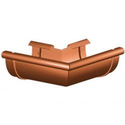 Narożnik zewnętrzny PVC 125mm lewe GAMRAT
