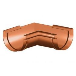 Narożnik wewnętrzny PVC 125mm lewy GAMRAT