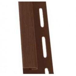 Listwa PVC typu  J  - Listwa PVC typu  J  odporna na promieniowanie UV - 4mb GAMRAT wybierz kolor